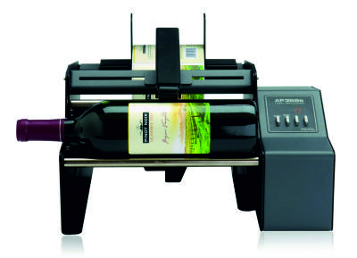 Roll label machine semi-automatic applicator