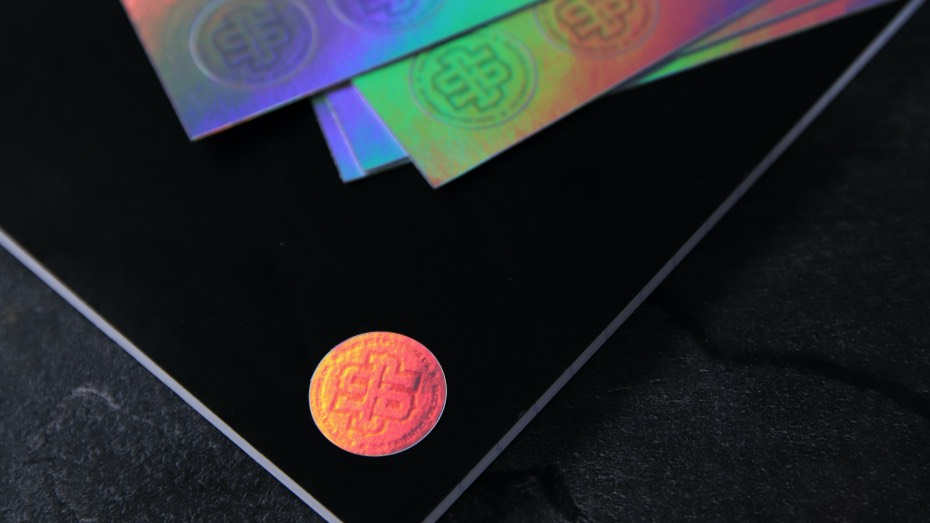 Holographic-security-BSC-sticker