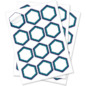 White vinyl sheet label product icon